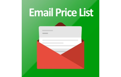 Listino prezzi mail